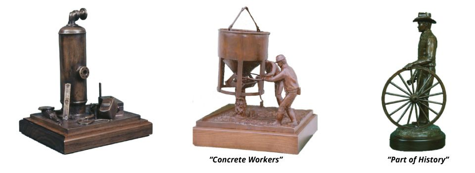 Bronze Work | Concrete Workers | Part of History
